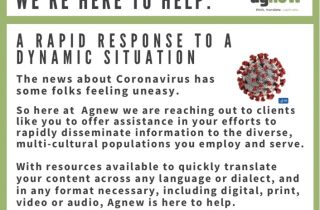 Message response to Caronavirus.
