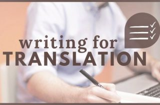 Show writing translation